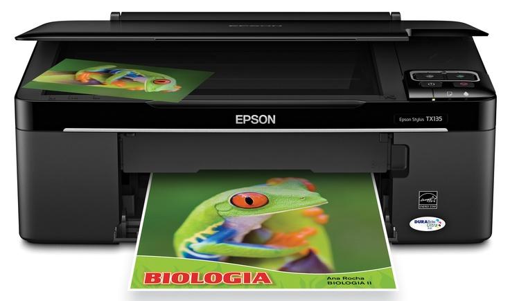Descargar Epson Stylus TX135 Driver Impresora