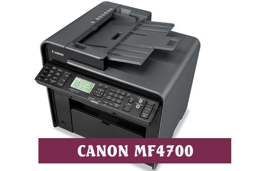 Descargar Canon MF4700 Series Driver Impresora