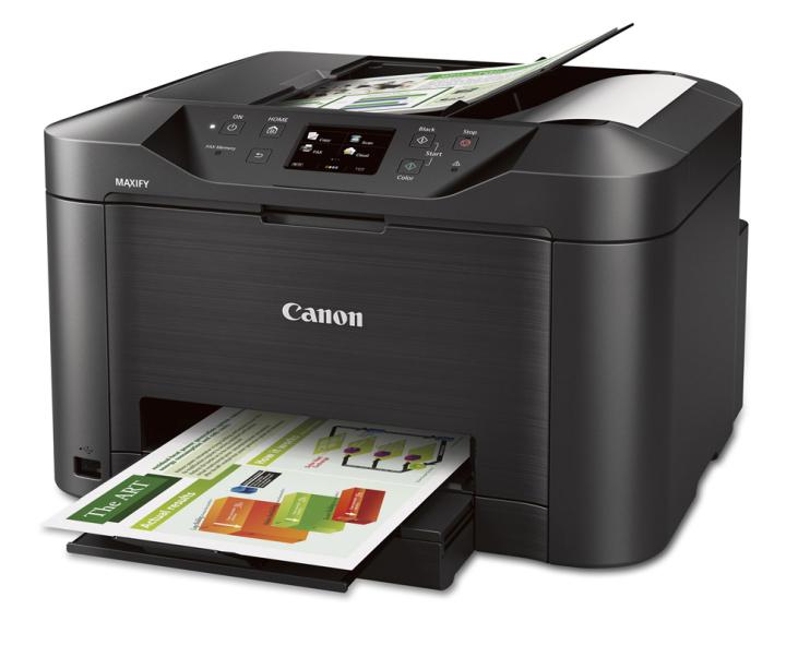 Descarga del controlador de impresora Canon MAXIFY MB5020