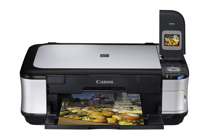 Descarga del controlador de impresora Canon PIXMA MP560