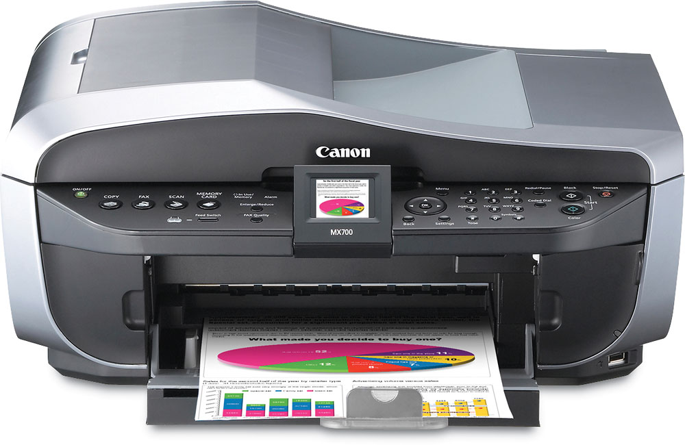 Descarga del controlador de impresora Canon PIXMA MX700