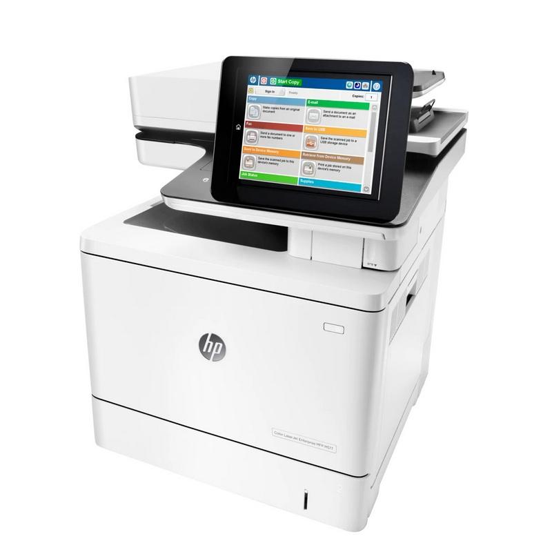 Descargar (Downloads) HP LaserJet Enterprise M527f MFP Driver Impresora Y Instalar Completo